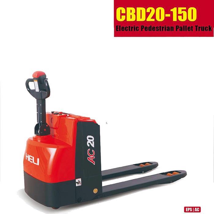 XE NÂNG TAY ĐIỆN MINI HELI CBD20-150