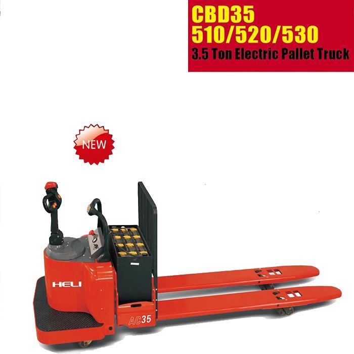 XE NÂNG TAY ĐIỆN MINI HELI CBD35-510/520/530