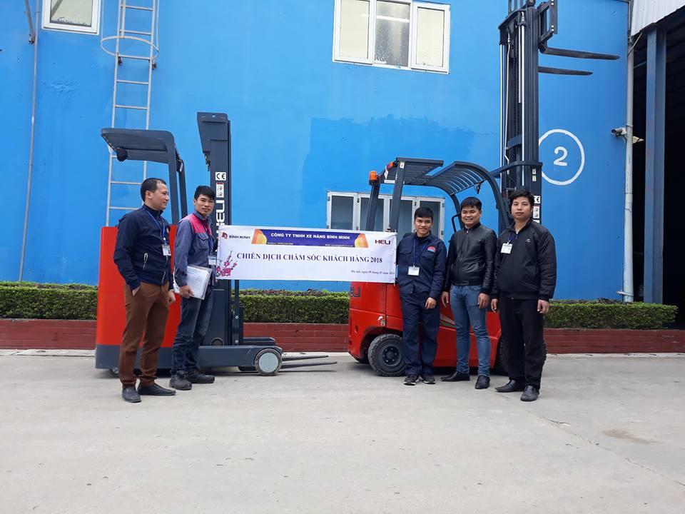 Chăm sóc khách hàng 2018 – Công ty tnhh xe nâng Bình Minh