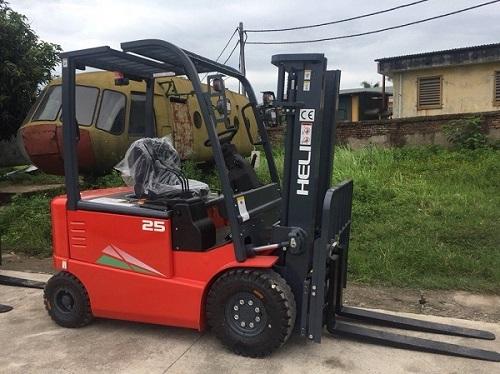 Xe nâng điện 2.5 tấn chính hãng Heli