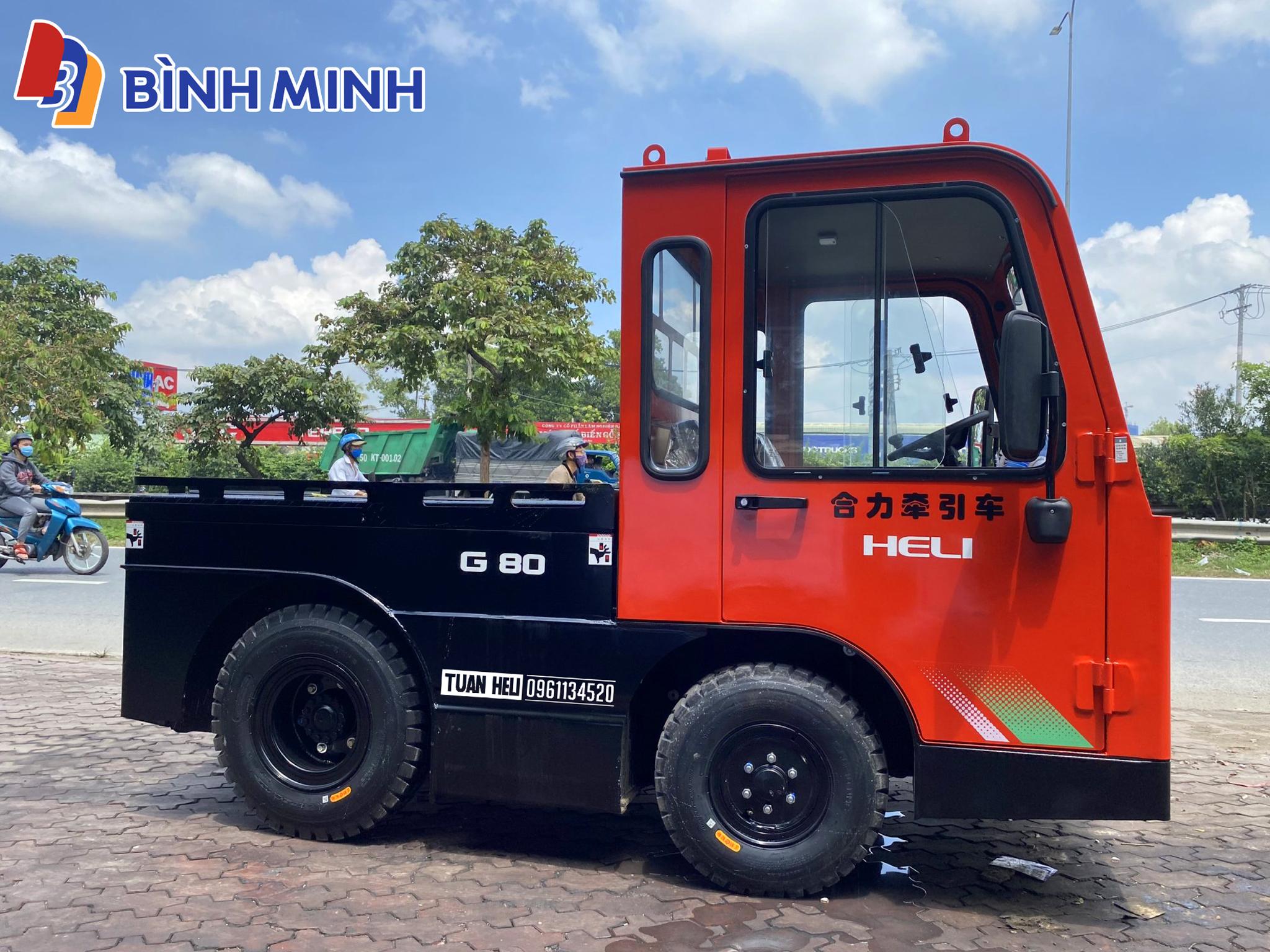 Xe kéo hàng HELI 8 tấn chạy điện | Hotline 0961.134.520