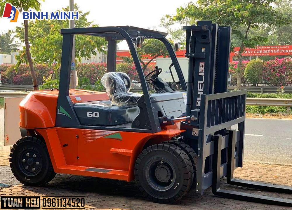 Xe nâng 6 tấn về Việt Nam | Xe nâng HELI Saigon | Lh: 0961.134.520