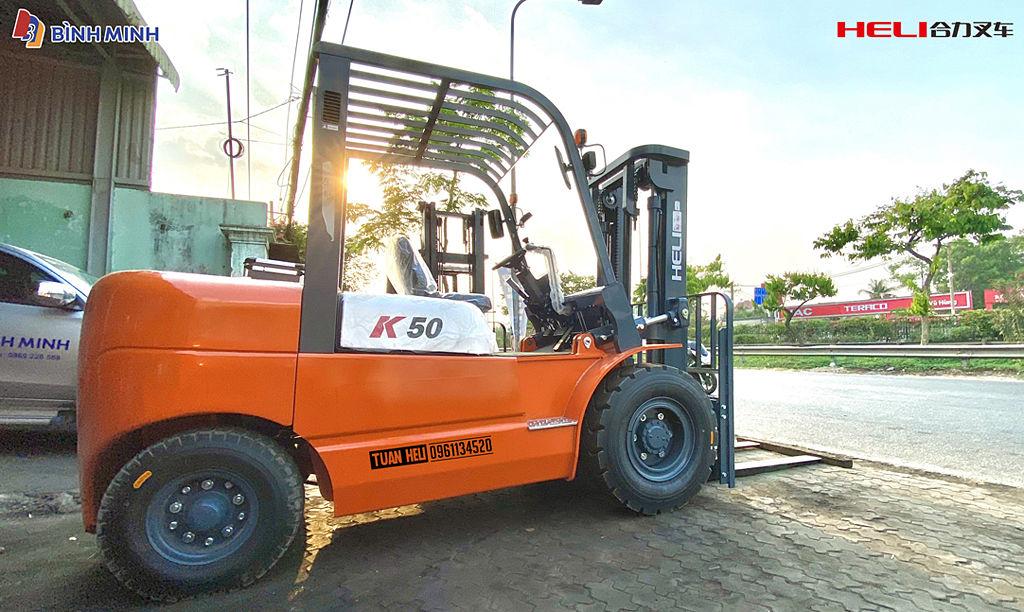 Xe nâng 5 tấn Heli Model K2 Series Mới Nhất Năm 2021