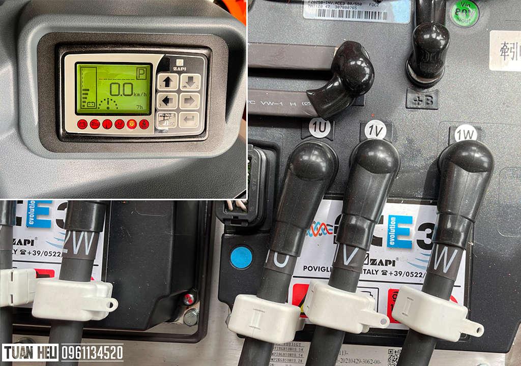 Bo mạch ZAPI của ITALY xe nâng điện 4-5 tấn